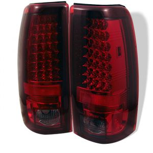 Spyder Auto ® - Red Smoke LED Tail Lights (5002075)