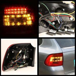 Spyder Auto ® - Red Smoke LED Tail Lights (5007094)