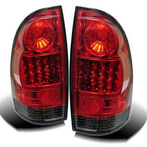 Spyder Auto ® - Red Smoke LED Tail Lights (5007940)