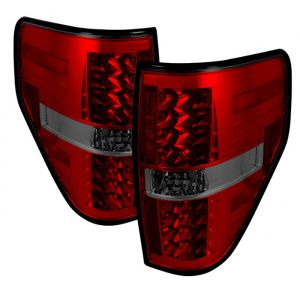 Spyder Auto ® - Red Smoke LED Tail Lights (5012012)