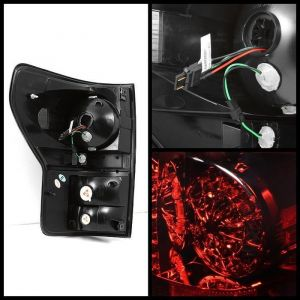 Spyder Auto ® - Red Smoke LED Tail Lights (5029614)
