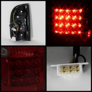 Spyder Auto ® - Red Smoke LED Tail Lights (5033727)
