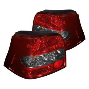 Spyder Auto ® - Red Smoke LED Tail Lights  (5033772)