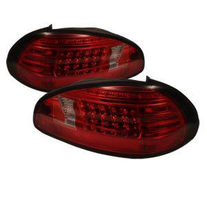 Spyder Auto ® - Red Smoke LED Tail Lights (5034229)
