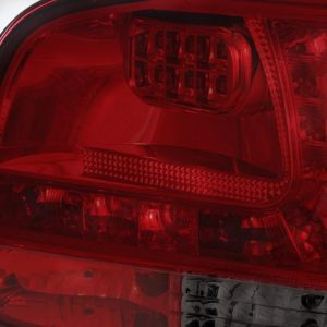 Spyder Auto ® - Red Smoke LED Tail Lights (5042729)