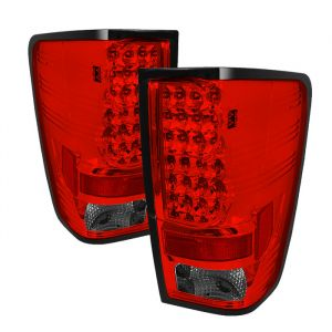 Spyder Auto ® - Red Smoke LED Tail Lights (5070081)