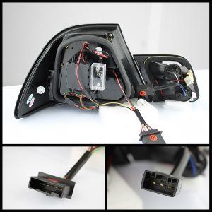 Spyder Auto ® - Red Smoke Light Bar LED Tail Lights (5073839)