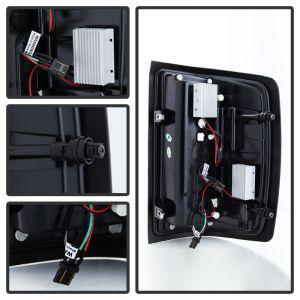 Spyder Auto ® - Red Smoke Light Bar LED Tail Lights (5080028)