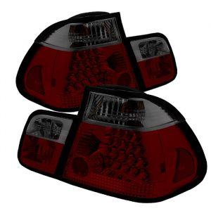 Spyder Auto ® - Red Smoke Tail Lights (5015075)