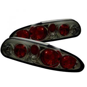 Spyder Auto ® - Smoke Euro Style Tail Lights (5001221)