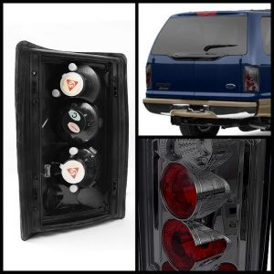 Spyder Auto ® - Smoke Euro Style Tail Lights (5002945)