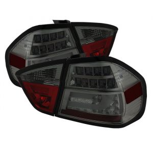 Spyder Auto ® - Smoke LED Indicator Light Bar LED Tail Lights (5071972)