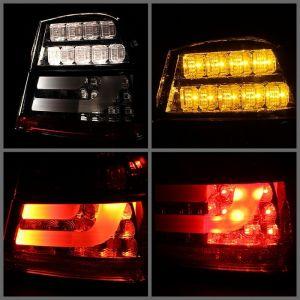 Spyder Auto ® - Smoke LED Indicator Light Bar LED Tail Lights (5071972)