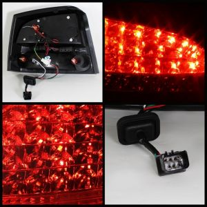 Spyder Auto ® - Smoke LED Tail Lights (5031693)