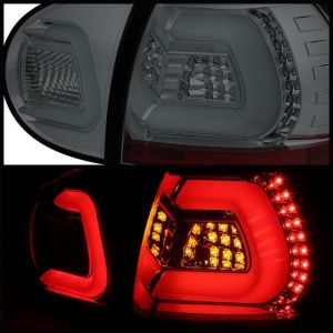Spyder Auto ® - Smoke LED Turn Signal LED Tail Lights  (5073785)