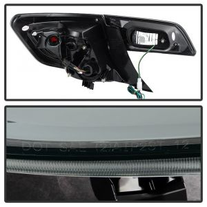 Spyder Auto ® - Smoke Light Bar LED Tail Lights (5079435)