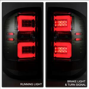 Spyder Auto ® - Smoke Light Bar LED Tail Lights (5080035)