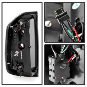 Spyder Auto ® - Smoke Light Bar LED Tail Lights (5080219)