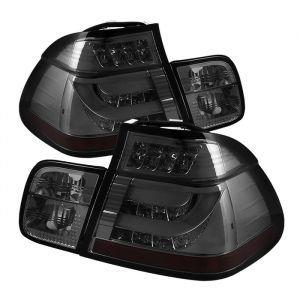 Spyder Auto ® - Smoke Light Bar Style LED Tail Lights (5015952)