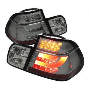 Spyder Auto ® - Smoke Light Bar Style LED Tail Lights (5037718)