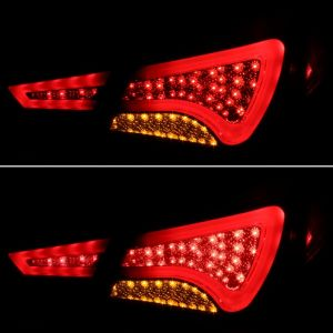 Spyder Auto ® - Smoke Light Bar Style LED Tail Lights (5075277)