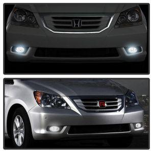 Spyder Auto ® - Smoke OEM Style Fog Lights (5077448)