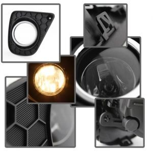 Spyder Auto ® - Smoke OEM Style Fog Lights (5079879)