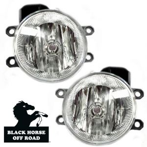 Black Horse Off Road ® - OEM Replica Clear Fog Lights (TY612OE)