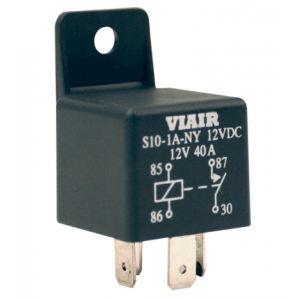 Viair ® - 24 Volt Relay with Molded Mounting Tab (93943)
