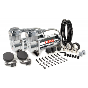 Viair ® - Dual Performance Chrome Air Compressors Value Pack 450C (45013)