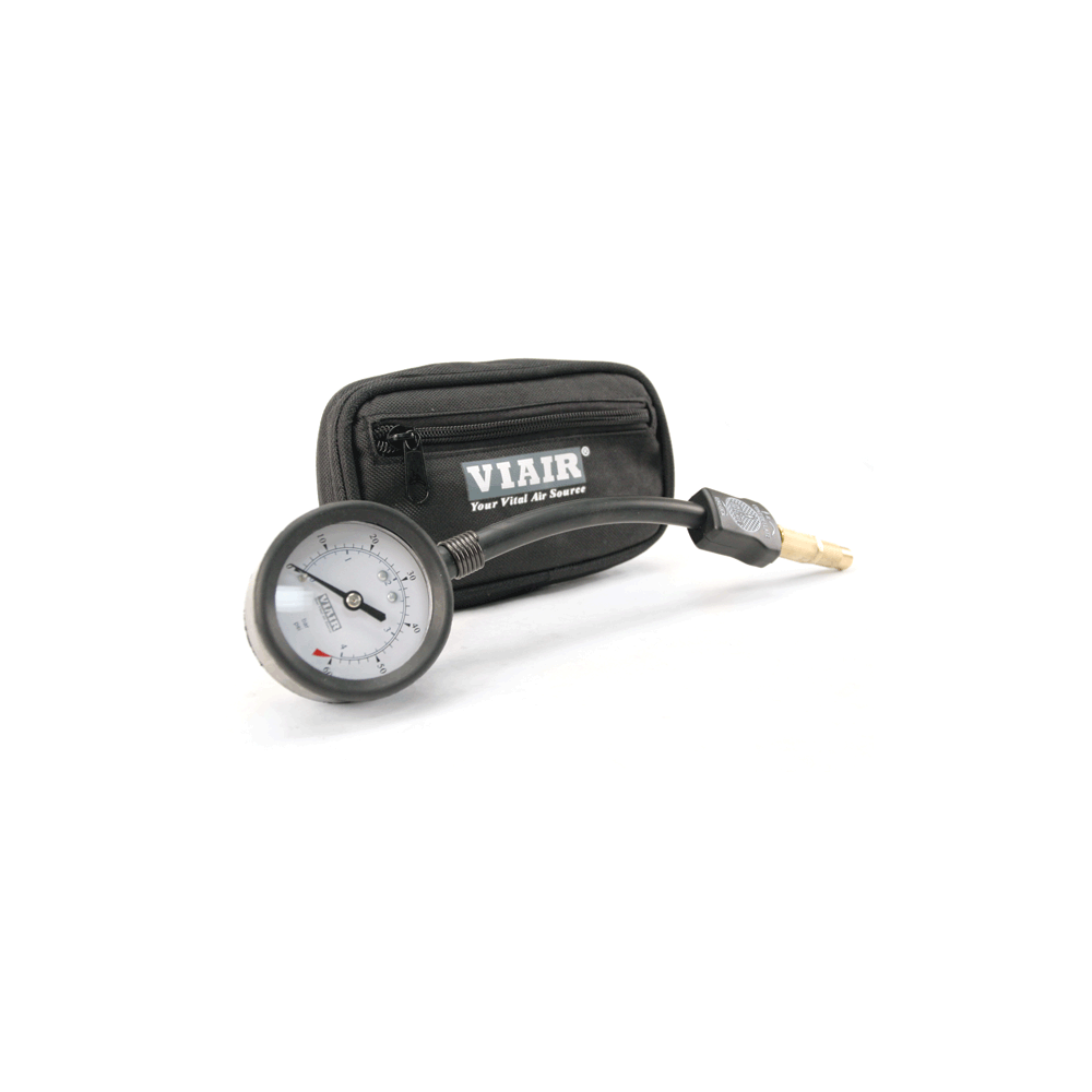 Viair ® - Air Down Gauge 1.5 Inch with Storage Pouch (00032)