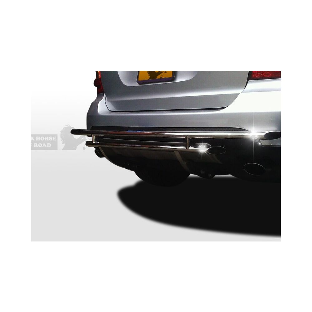 Black Horse Off Road ® - Rear Bumper Guard (8D140518SS-DL)
