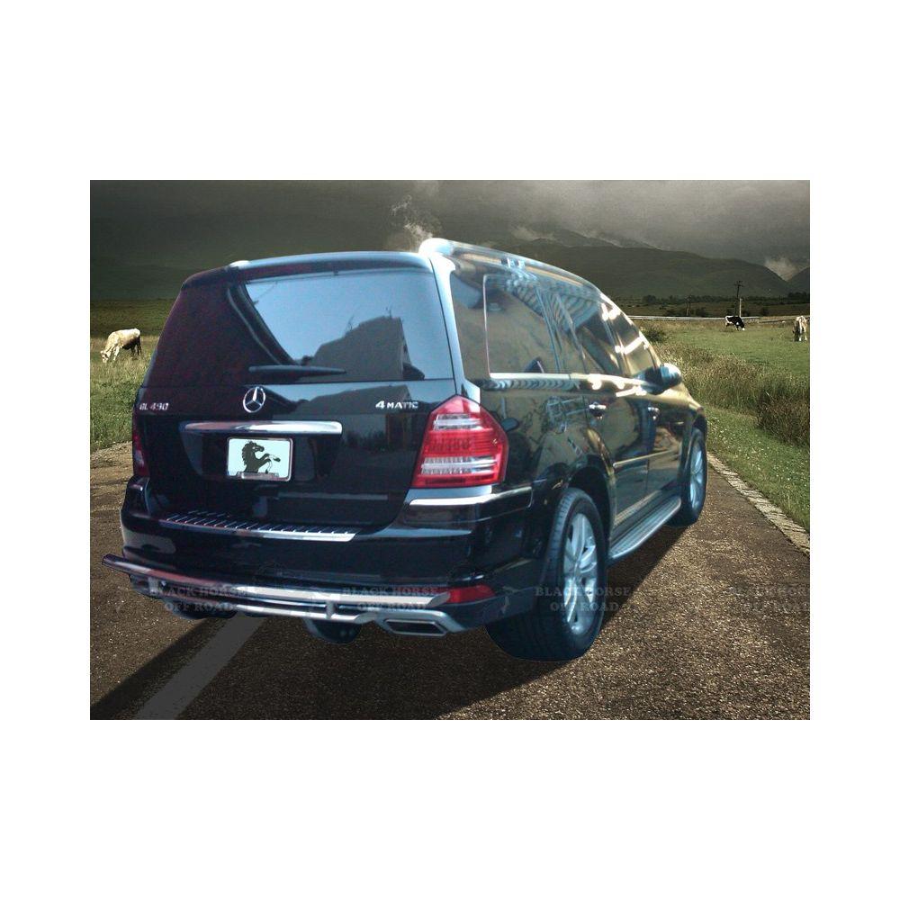 Black Horse Off Road ® - Rear Bumper Guard (8B019SS-DL)