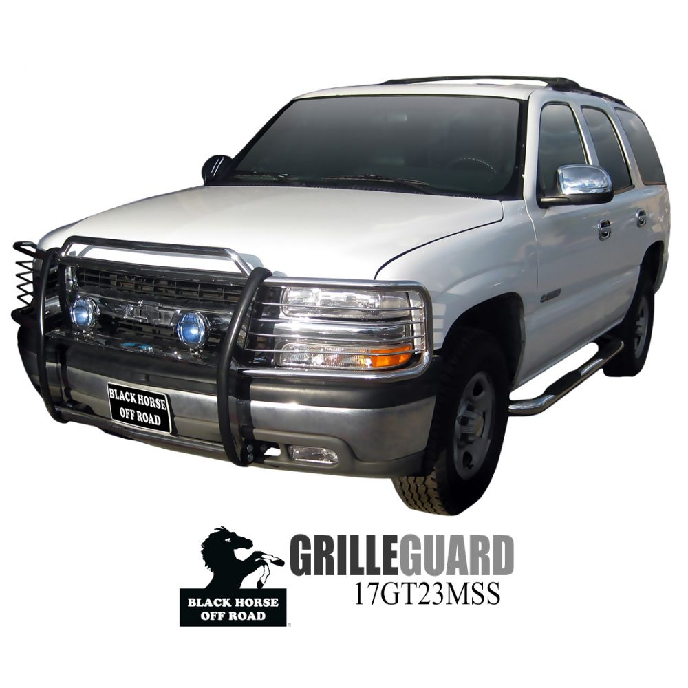 Black Horse Off Road ® - Grille Guard (17GT23MSS)