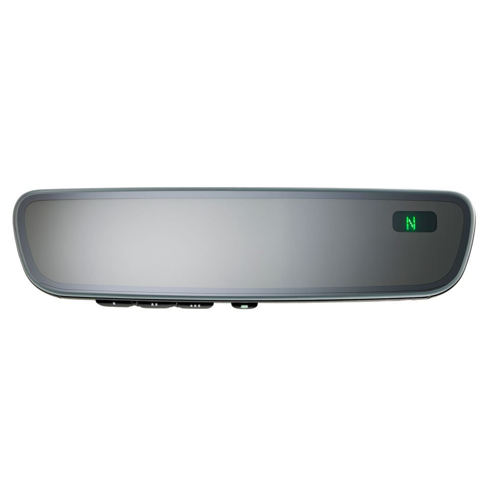 Mito Auto ® - Gentex Frameless Auto-Dim Universal Rearview Mirror with Compass and HomeLink V5 (50-GENK85A)