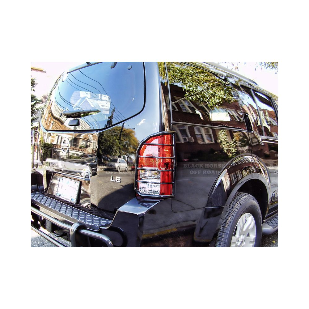 Black Horse Off Road ® - Tail Light Guards (7G110206SS)