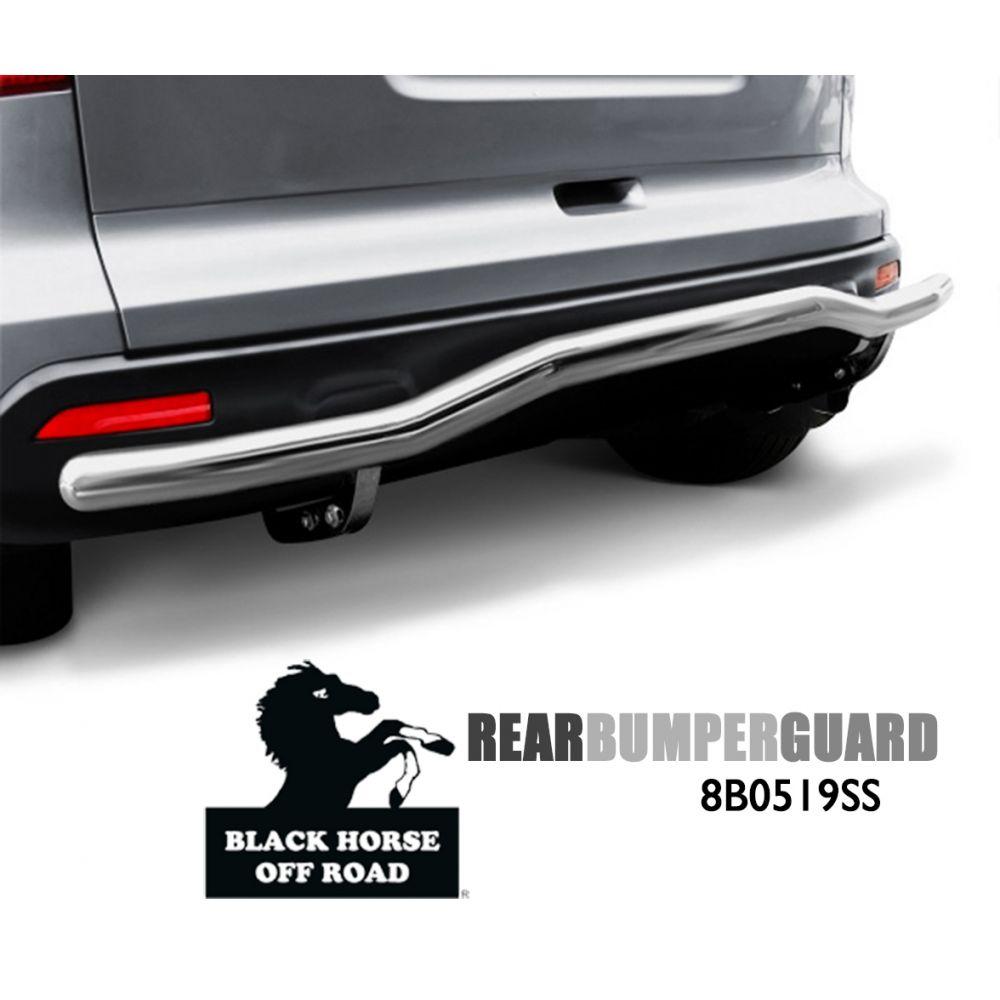 Black Horse Off Road ® - Rear Bumper Guard (8B0519SS)