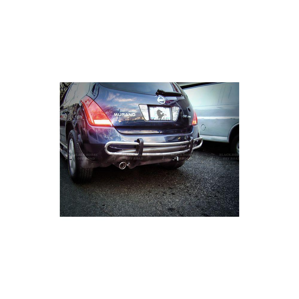 Black Horse Off Road ® - Rear Bumper Guard (8D112016SS)