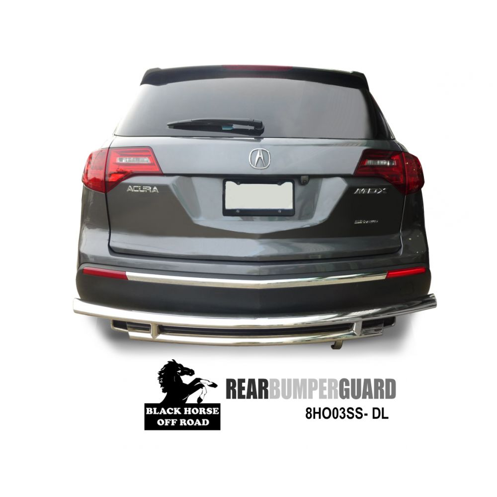 Black Horse Off Road ® - Rear Bumper Guard B(8HO03SS-DL)