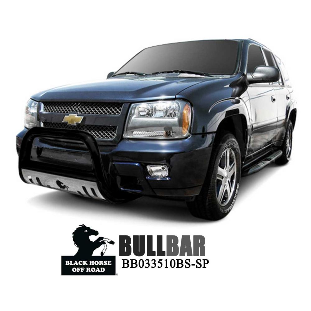 Black Horse Off Road ® - Bull Bar (BB033510BS-SP)