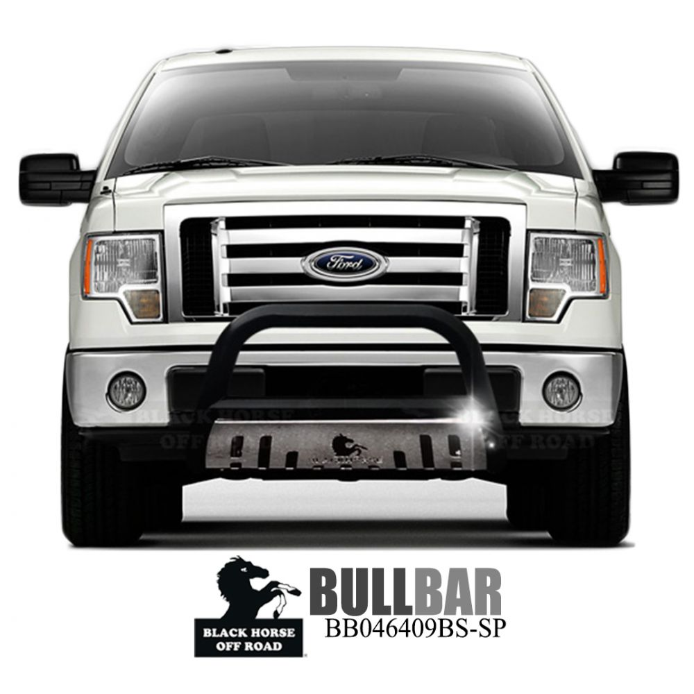 Black Horse Off Road ® - Bull Bar (BB046409BS-SP)