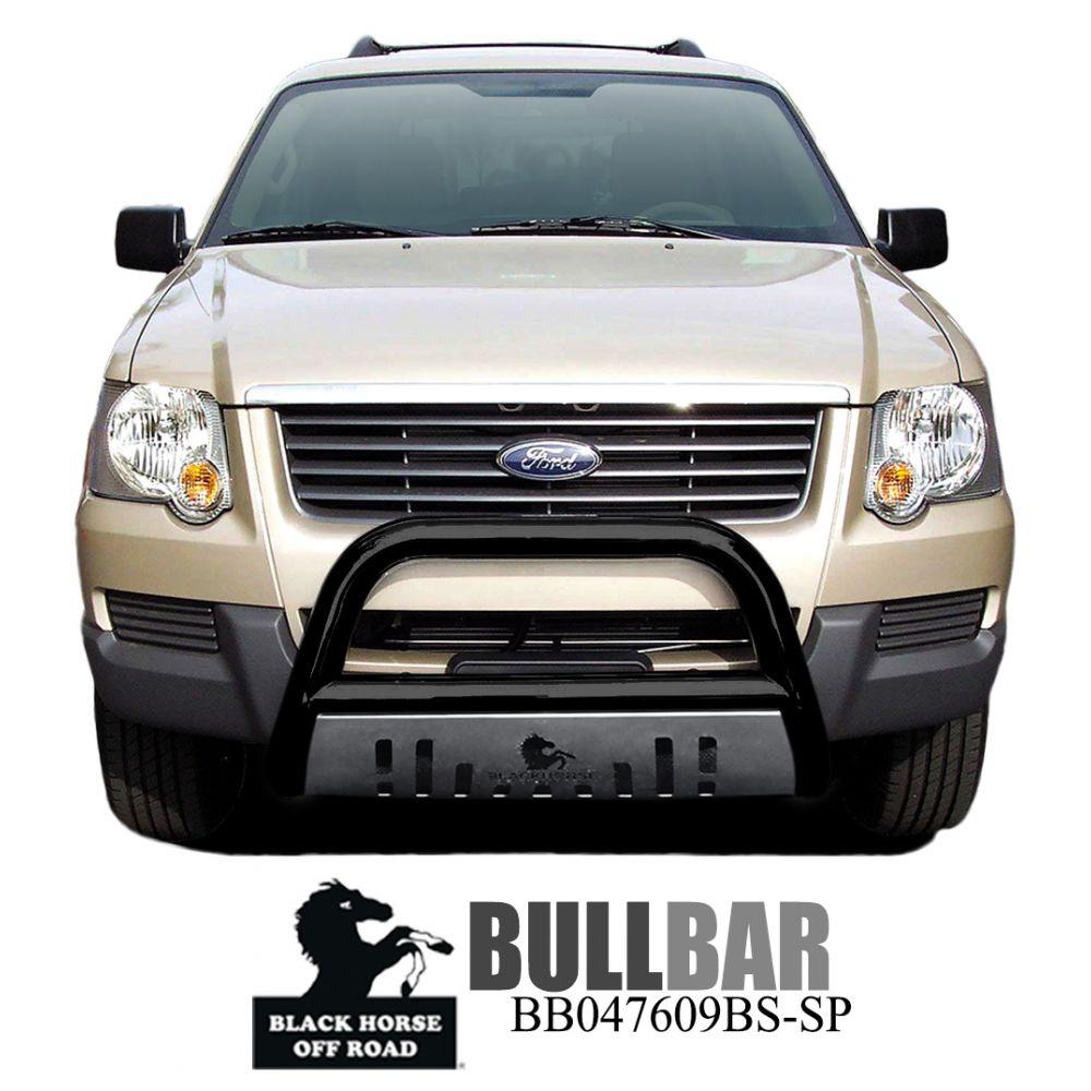 Black Horse Off Road ® - Bull Bar (BB047609BS-SP)