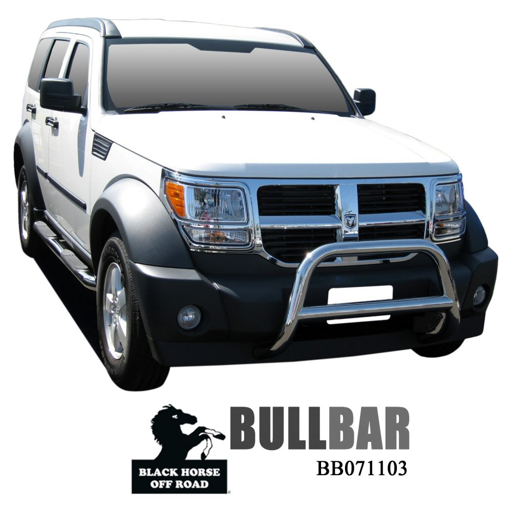 Black Horse Off Road ® - Bull Bar (BB071103SS)