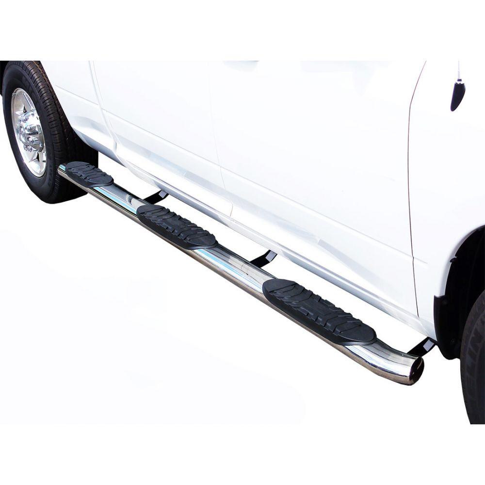 Black Horse Off Road ® - 5 Inch Wheel To Wheel Side Steps (9BDG301SS5OV-BN-WTW)