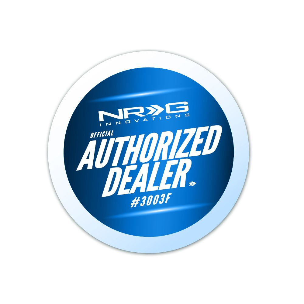 NRG ® - 42mm 5 Speed White Heavy Weight Shift Knob 480g / 1.1lbs (SK-100WH-W(5))