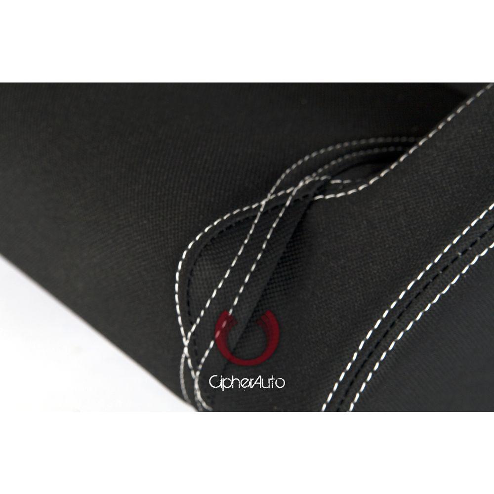 Cipher Auto ® - Black and Blue Cloth Universal Racing Seats (CPA1017FBKBU)