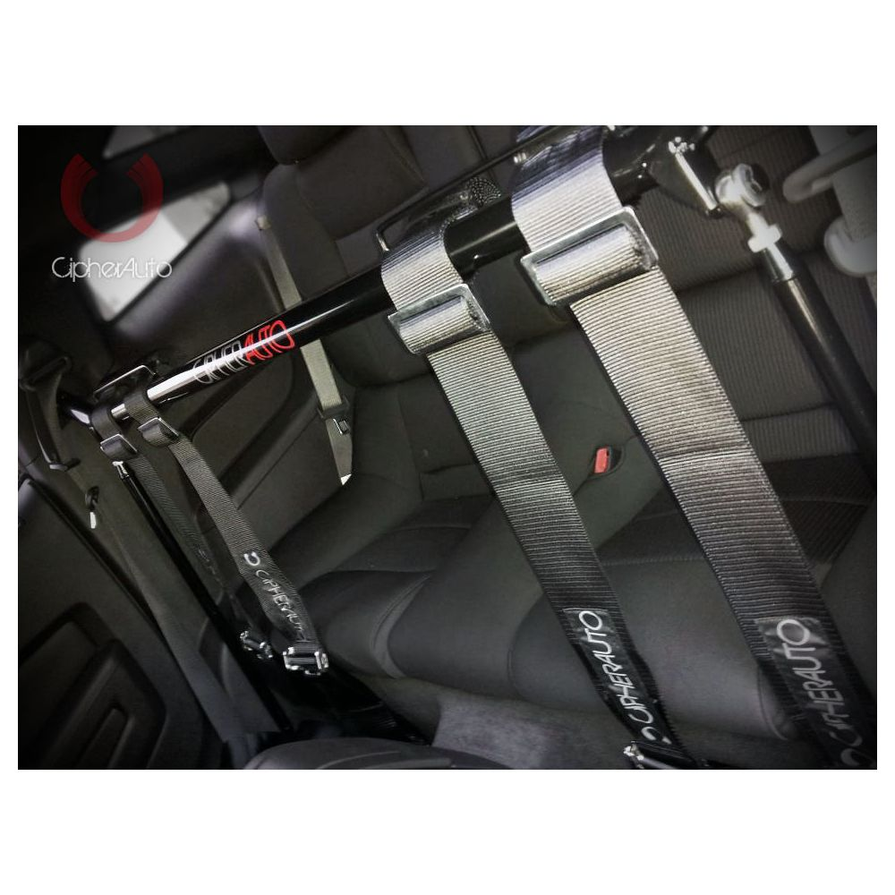 Cipher Auto ® - Silver Custom Racing Harness Bar (CPA5001HB-SV)
