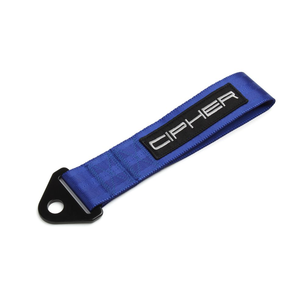 Cipher Auto ® - Blue 2 Inches Towing Strap (CPA7000BU)