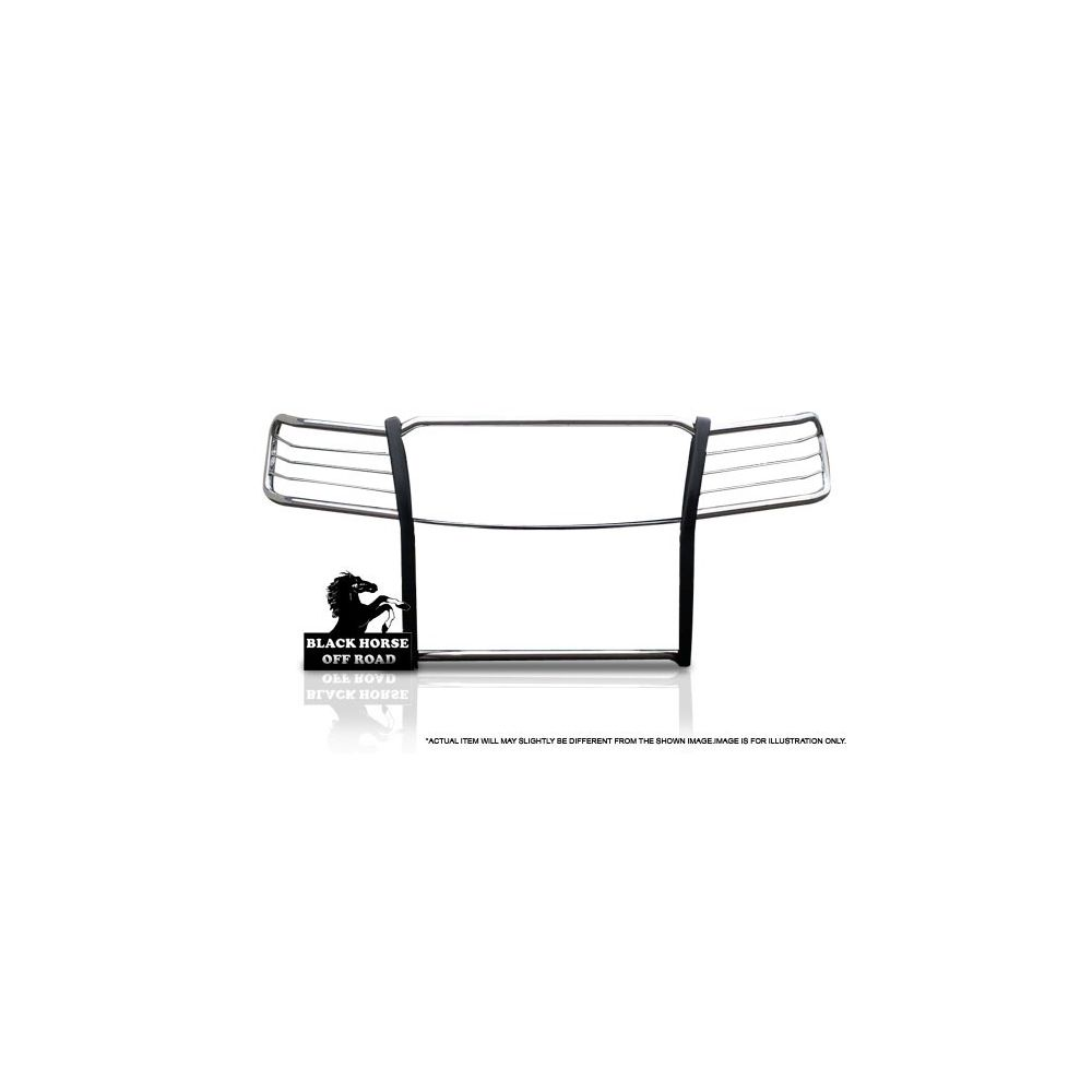 Black Horse Off Road ® - Grille Guard (17NR26MSS)
