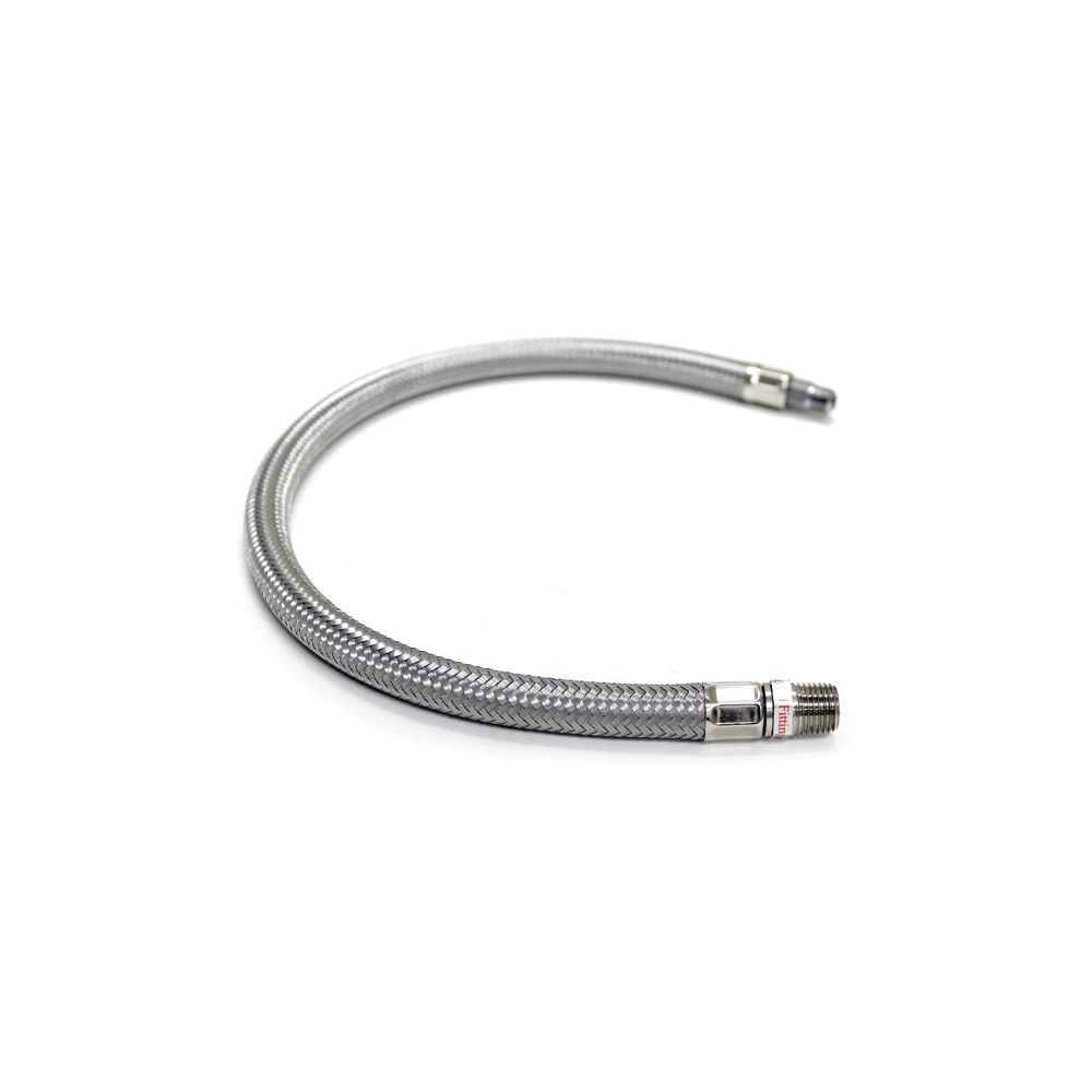 Viair ® - Stainless Steel Braided Leader Hoses without Check Valve (92809)